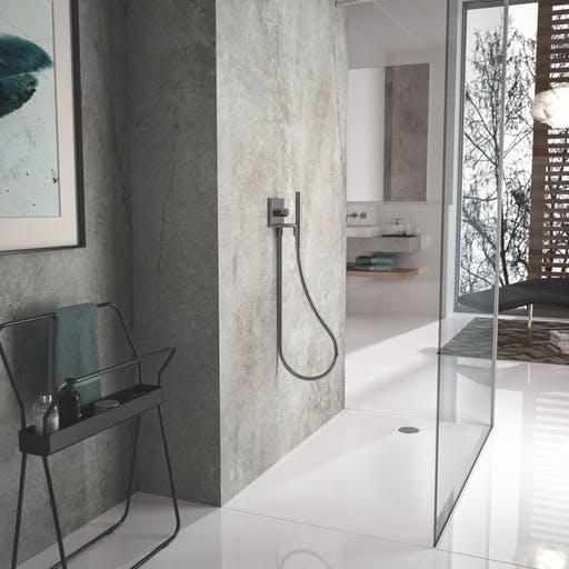 Dekton til dit nye bad. Lækkert og tidsløst design.
