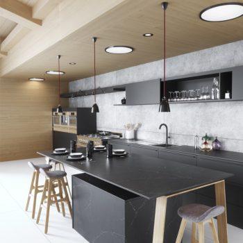 10640-Charcoal Soapstone kitchen 1